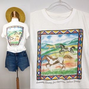 Vintage American Indian Horse tee